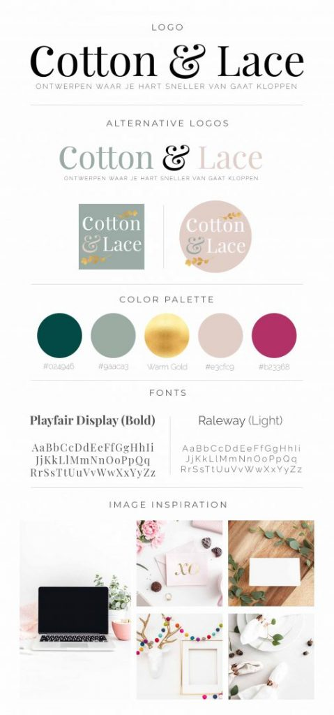 Brandboard Cotton & Lace