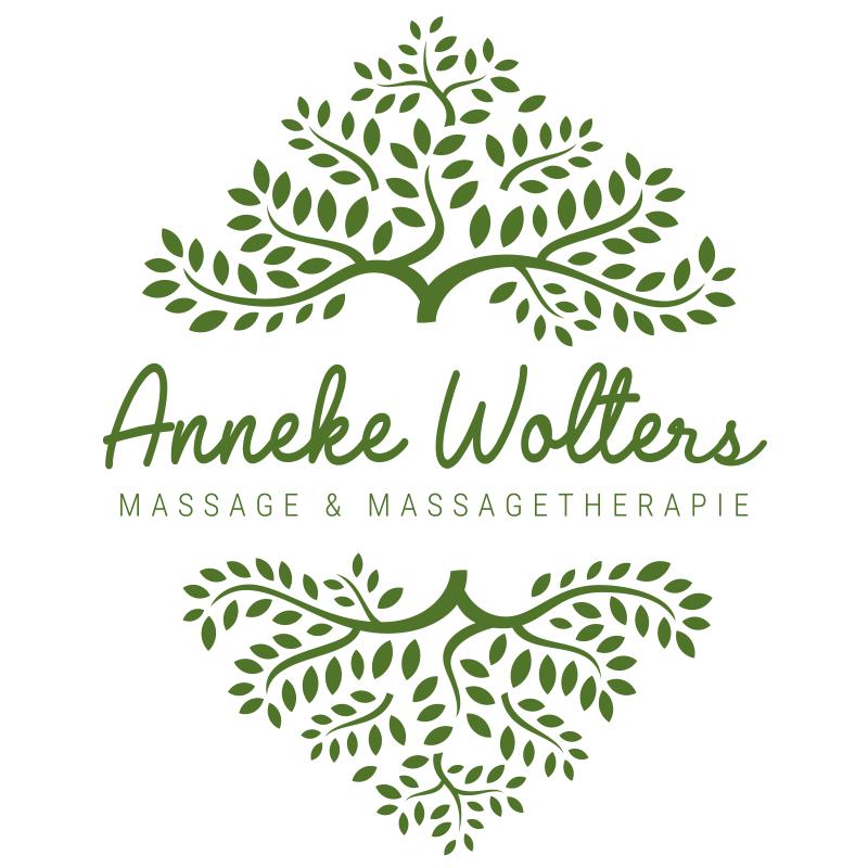 Logo voor massagestudio Anneke Wolters