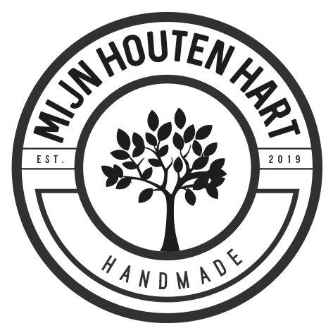 Alternatief logo meubelmaker Mijn Houten Hart