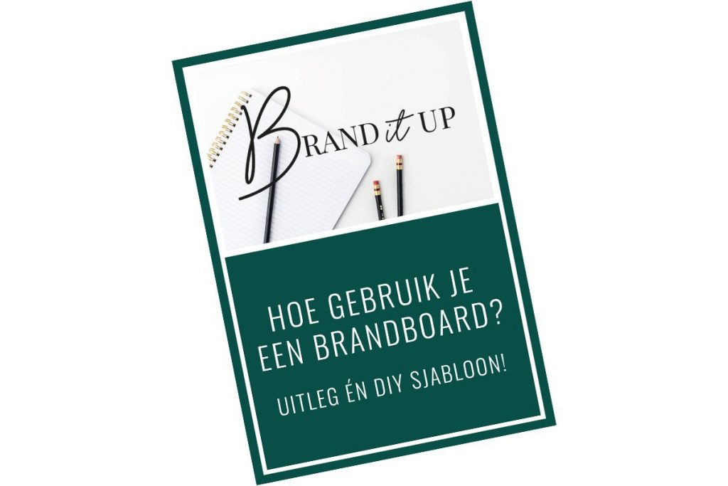 Zelf een Brandboard maken? Download nu de uitleg en een Brandboard DiY sjabloon.